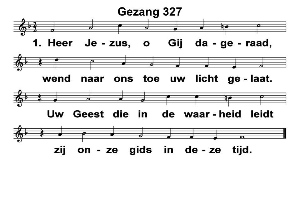Gezang 327