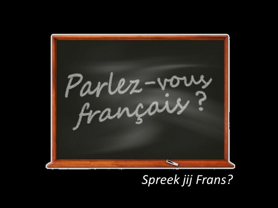 Spreek jij Frans?