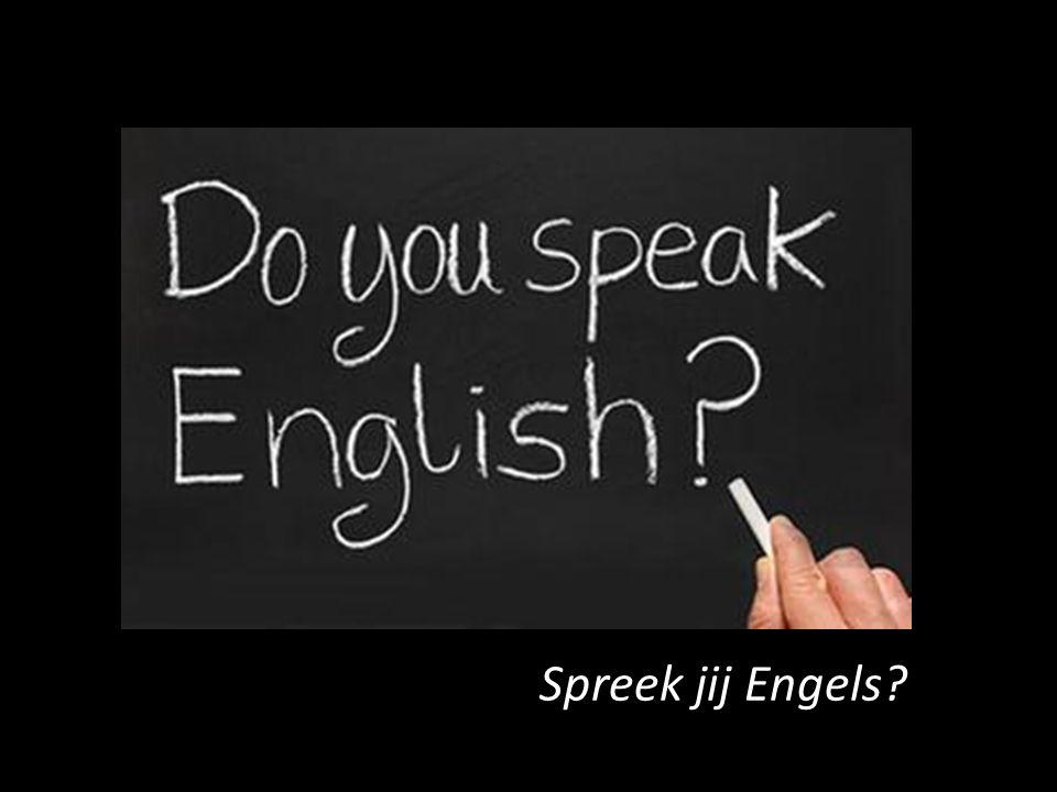 Spreek jij Engels?