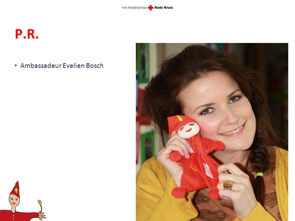 P.R. Ambassadeur Evelien Bosch