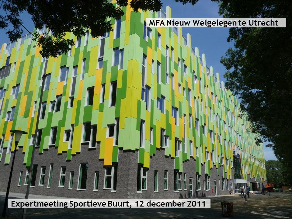 MFA Nieuw Welgelegen te Utrecht Expertmeeting Sportieve Buurt, 12 december 2011