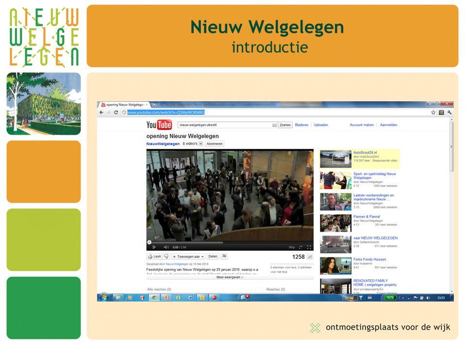 Nieuw Welgelegen is een multifunctionele wijkvoorziening met een maatschappelijke doelstelling Oogmerk: ontmoetingsplaats voor de wijk Ruimte voor –sport –onderwijs –welzijn –cultuur Nieuw Welgelegen introductie