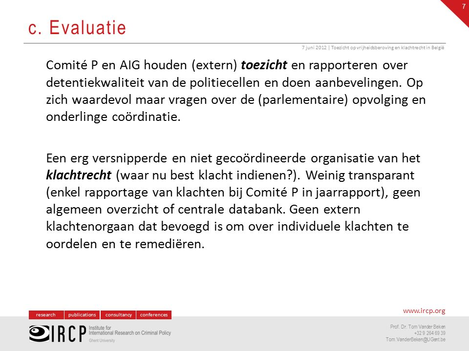 researchpublicationsconsultancyconferences www.ircp.org Prof.