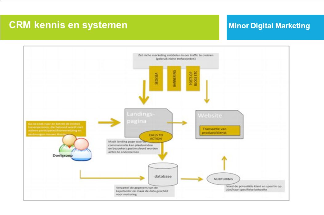 Minor Digital Marketing Internet Scorecard CRM kennis en systemen