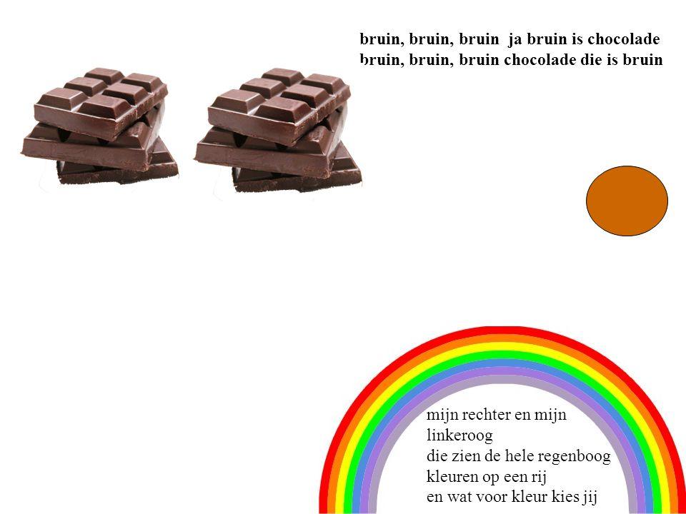 paars, paars, paars, ja paars zijn alle pruimen paars, paars paars de pruimen die zijn paars mijn rechter en mijn linkeroog die zien de hele regenboog