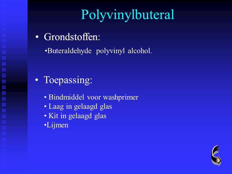 Polyvinylbuteral Grondstoffen: Bindmiddel voor washprimer Laag in gelaagd glas Kit in gelaagd glas Lijmen Grondstoffen Buteraldehyde polyvinyl alcohol