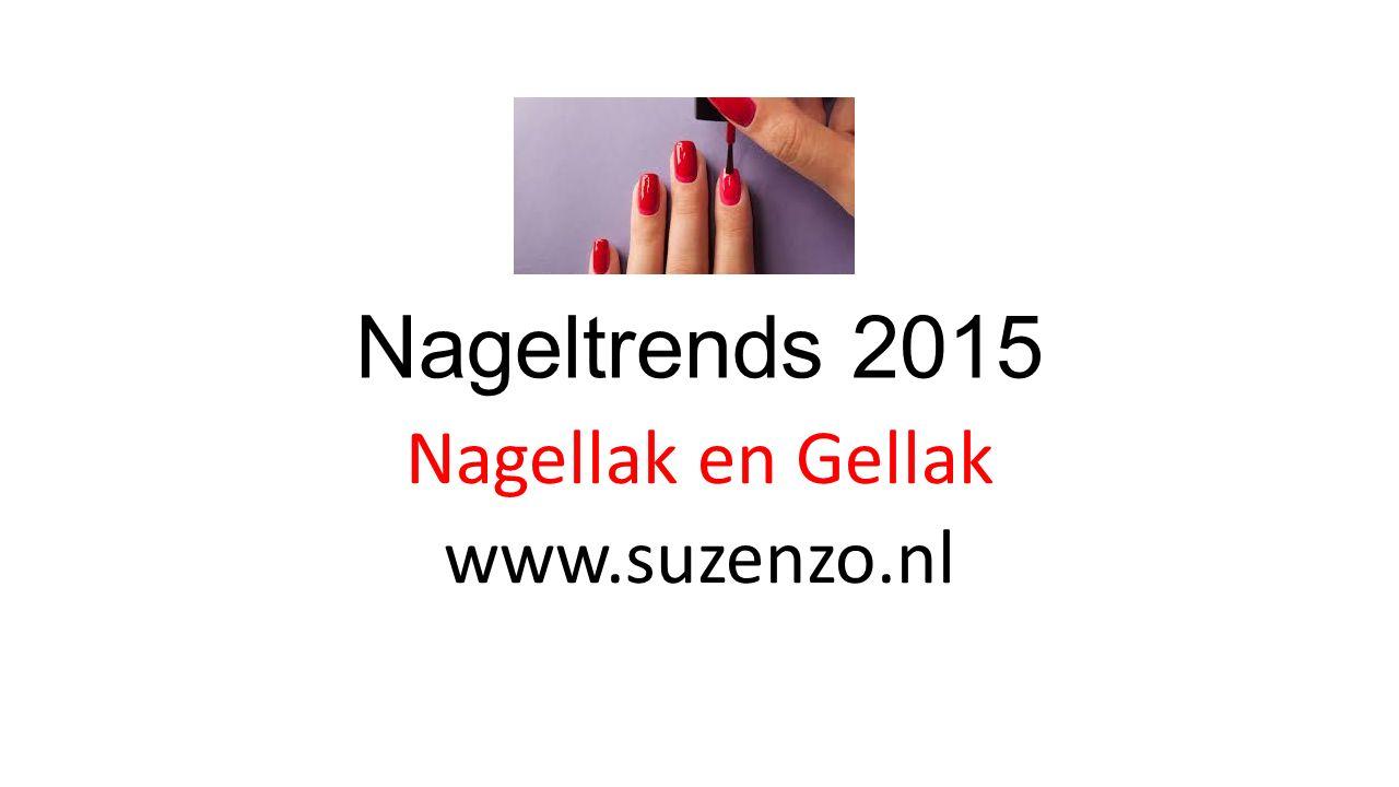 Nageltrends 2015 Nagellak en Gellak www.suzenzo.nl