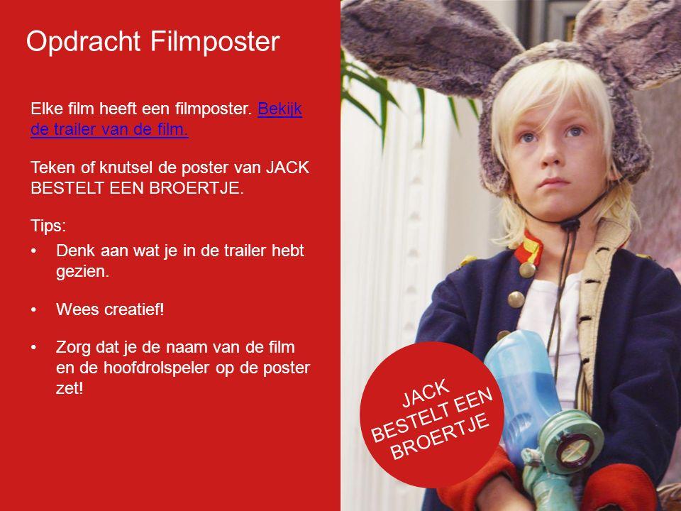 Filmp oster Elke film heeft een filmposter.