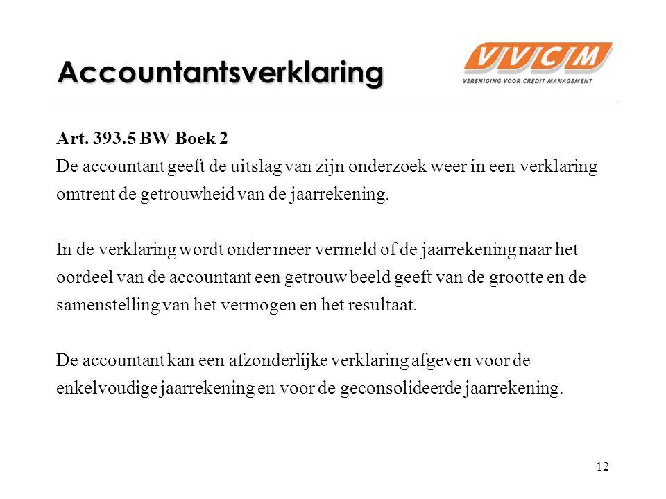 12 Accountantsverklaring Art.