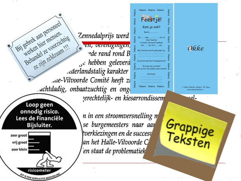 Teksten schrijven – Herschrijven/inleveren  Verwerk de feedback.  Lever je tekst in.