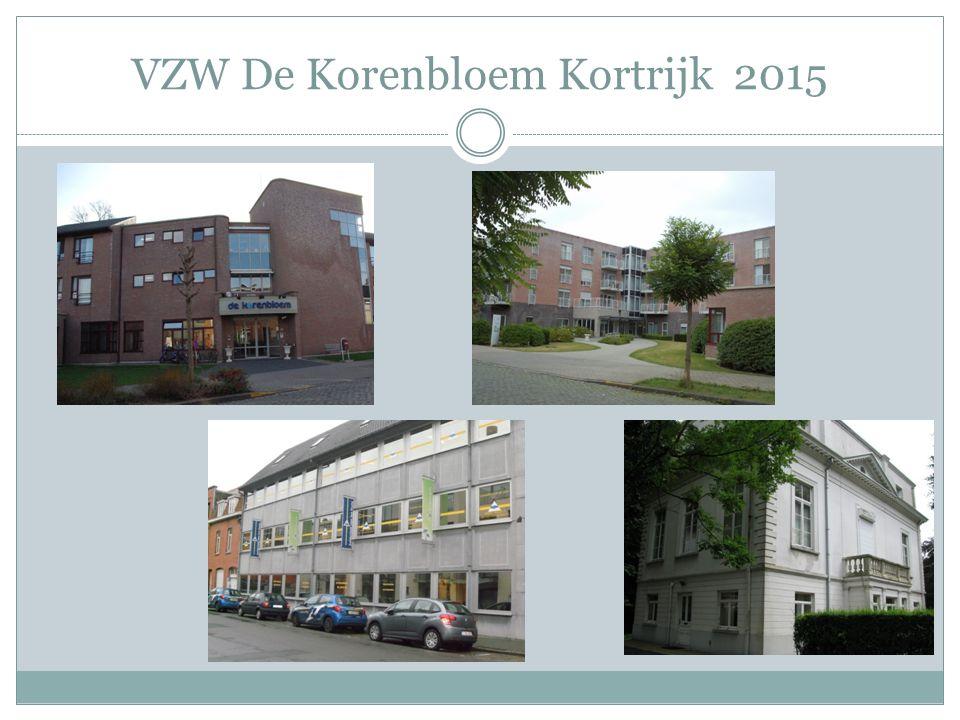 WZC De Korenbloem ( 80 woongelegenheden) WZC De Korenbloem ( 7 kamers kort verblijf) 40 Assistentiewoningen Dagverzorgingscentrum De Korenbloem Dagverzorgingscentrum Het Landhuis