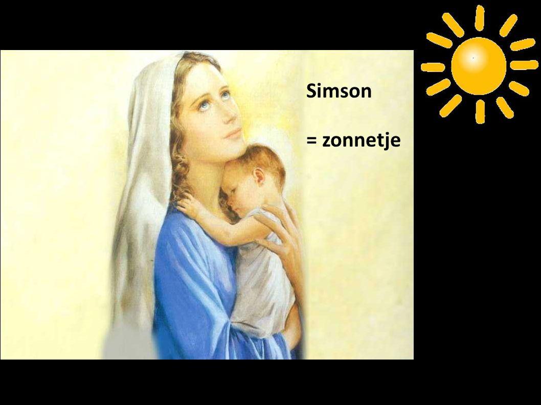 Simson = zonnetje