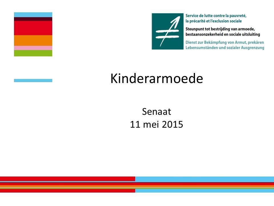 Kinderarmoede Senaat 11 mei 2015
