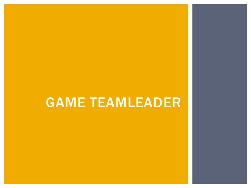GAME TEAMLEADER
