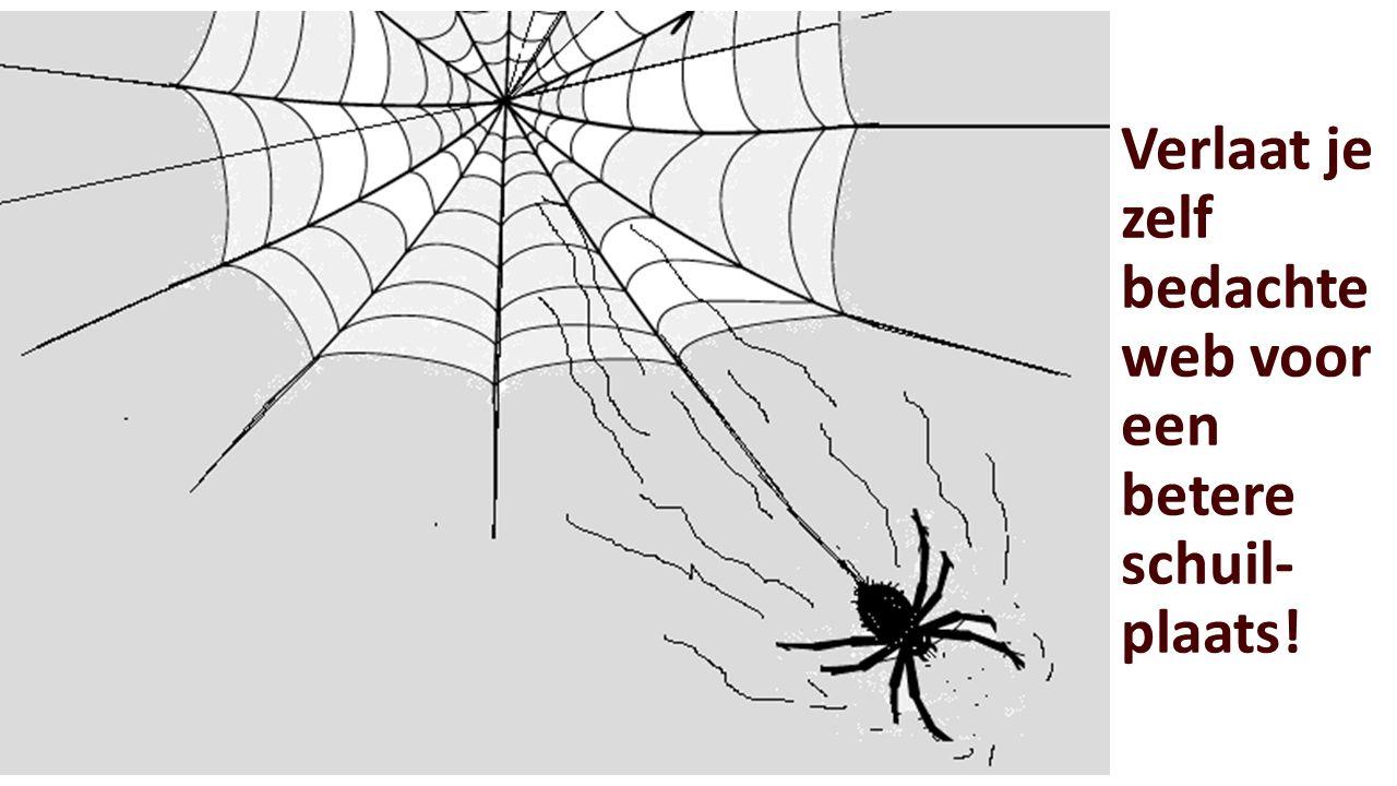 Verlaat je zelf bedachte web voor een betere schuil- plaats!