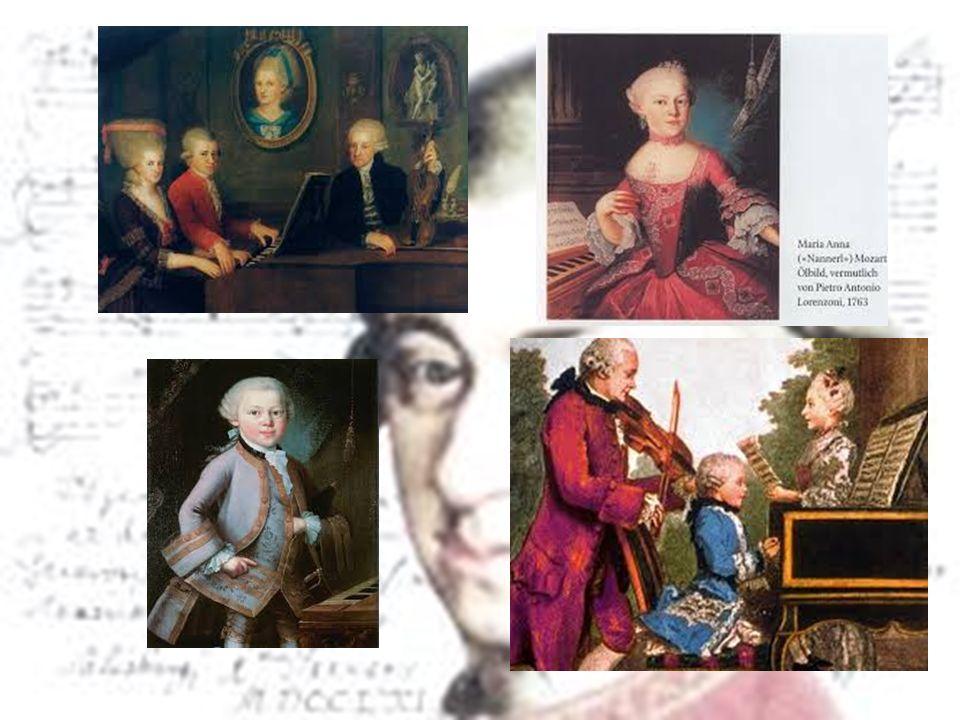 De eerste tournee Op zijn negende 3½ jaar 'van huis', 1763 - 1766