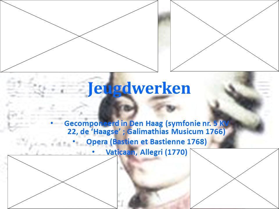 Latere reizen Mannheim 1777-8: Mannheimer Rakete, 40 e symfonie Parijs 1778-9: Parijse symfonie, met Premier Coup d'Archet