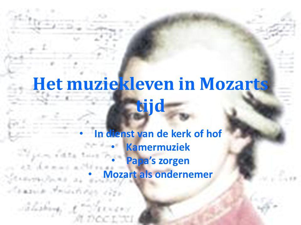 Componisten rond Mozart Tussen Bach en Beethoven Twee revoluties
