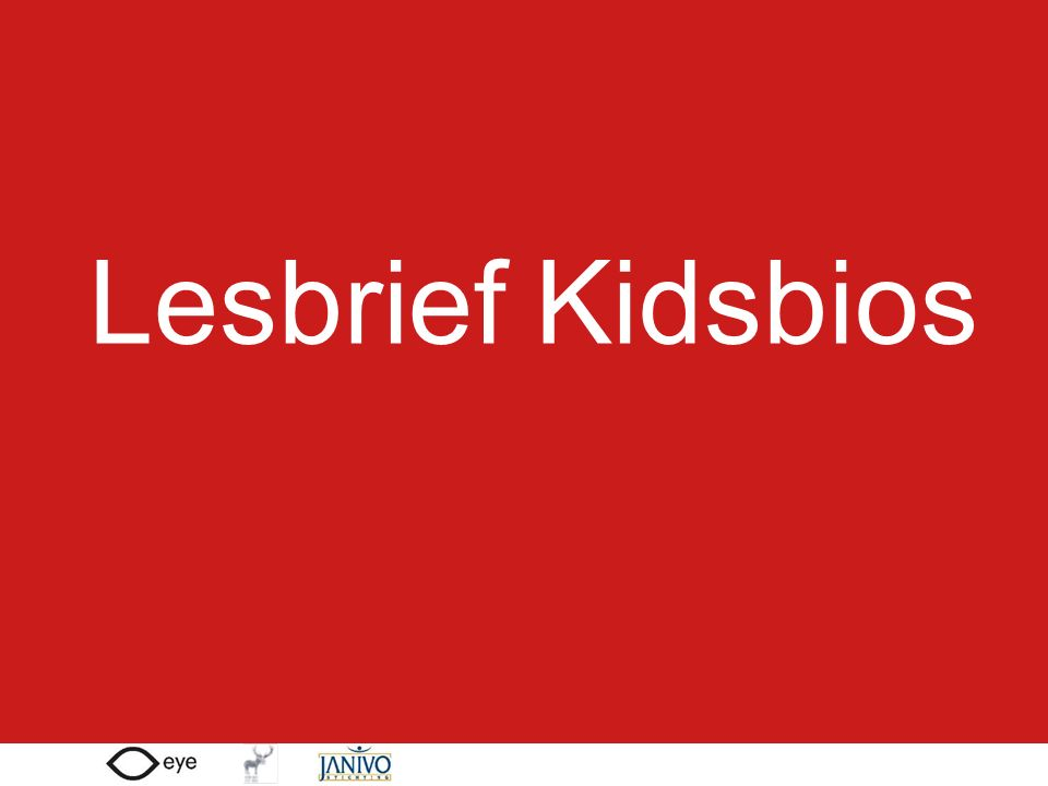 Lesbrief Kidsbios