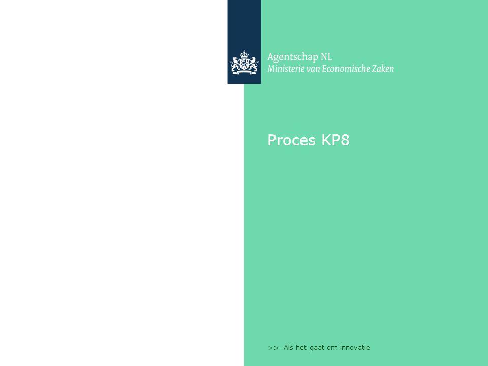 >> Als het gaat om innovatie Proces KP8