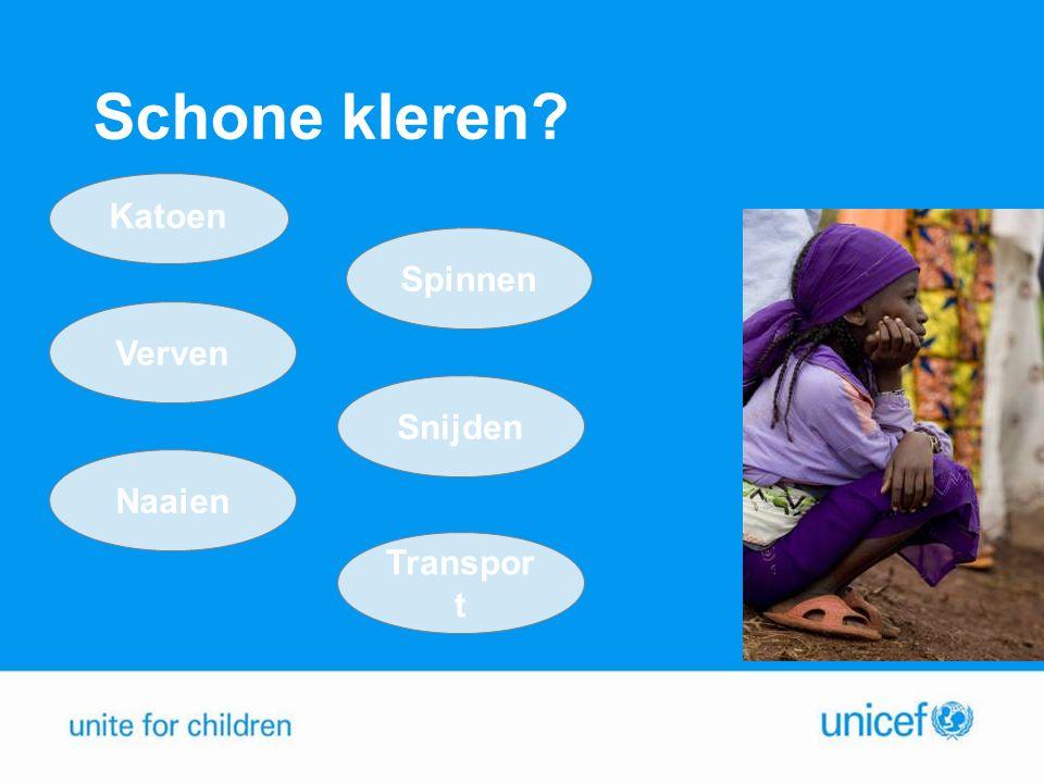 Opdracht: Wat kun jij doen tegen kinderarbeid in de kledingindustrie.