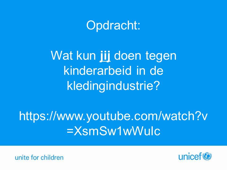UNICEF tegen Kinderarbeid Regeringen oproepen om kinderen gratis naar school te laten gaan.