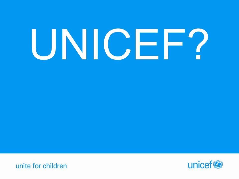 UNICEF?