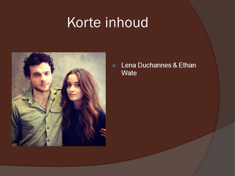 Korte inhoud  Lena Duchannes & Ethan Wate