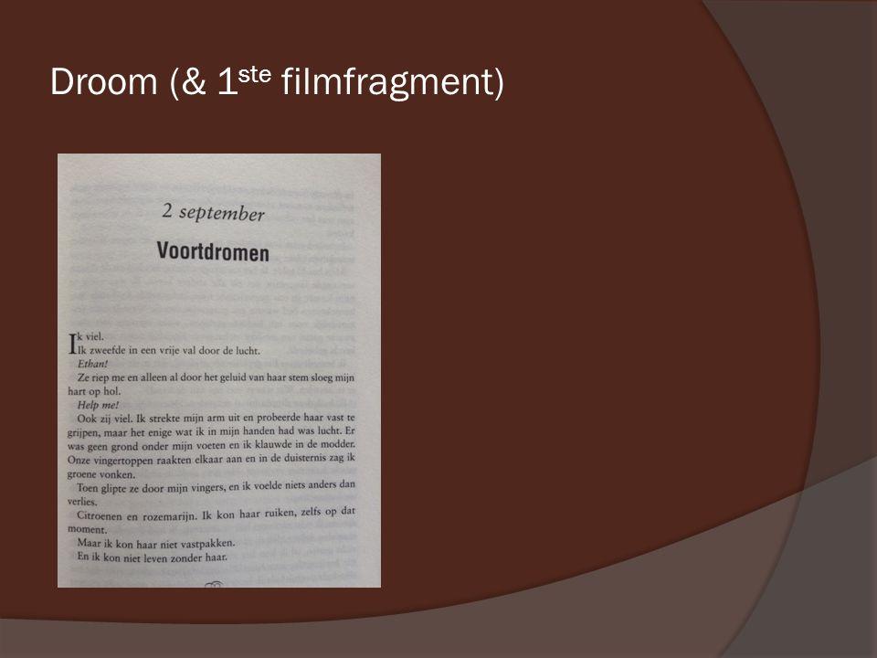 Droom (& 1 ste filmfragment)