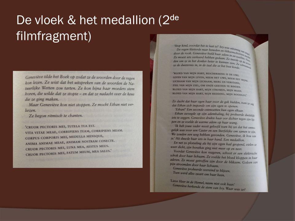 De vloek & het medallion (2 de filmfragment)