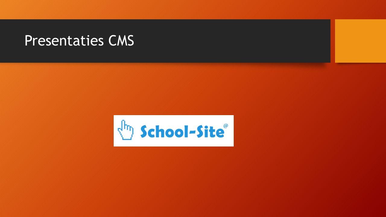 Presentaties CMS