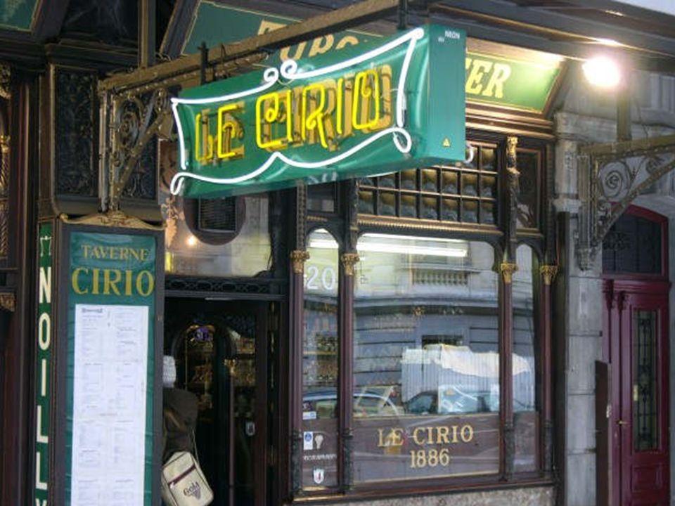 Oude cafés in Brussel LA BECASSE