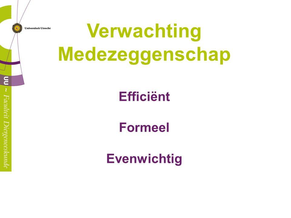 Efficiënt Goed voorbereid: agenda op orde en afgestemd alle stukken op tijd beschikbaar op teamsite alle stukken gelezen en evt.
