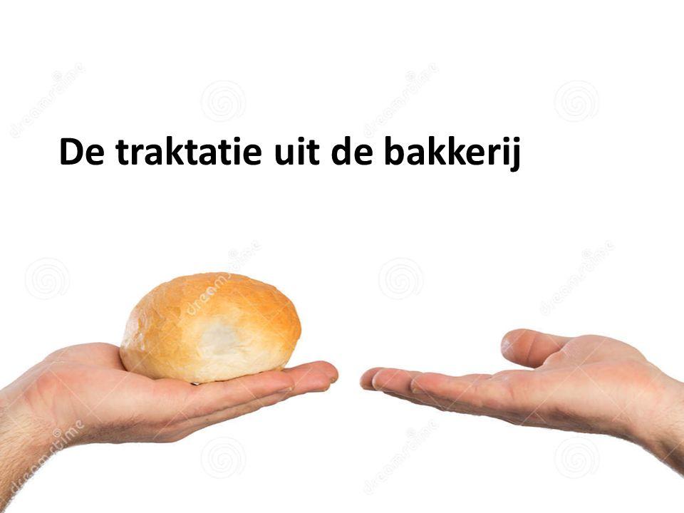 De traktatie uit de bakkerij