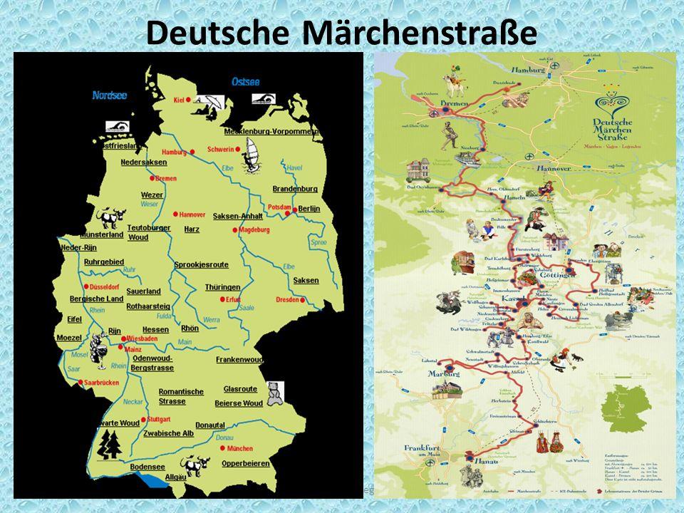 Deutsche Märchenstraße rop@regiuscollege.nl5