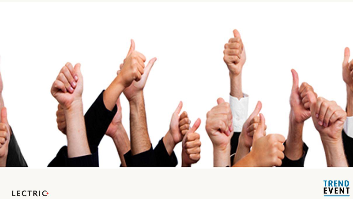 1. Goedkeuring Je hebt commitment en vertrouwen nodig Begrijpen/willen je mensen dit wel.