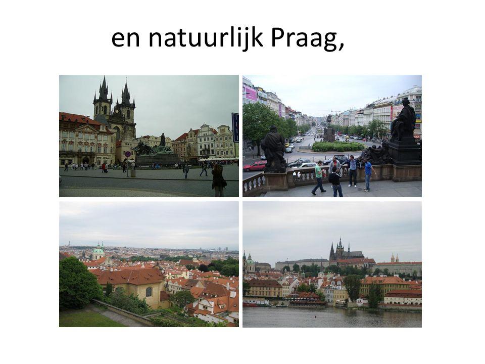 en natuurlijk Praag,