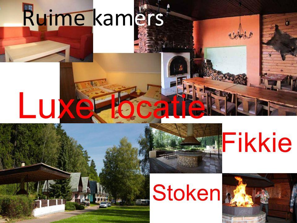 Ruime kamers Luxe locatie Fikkie Stoken
