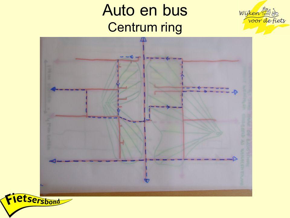 Auto en bus Centrum ring