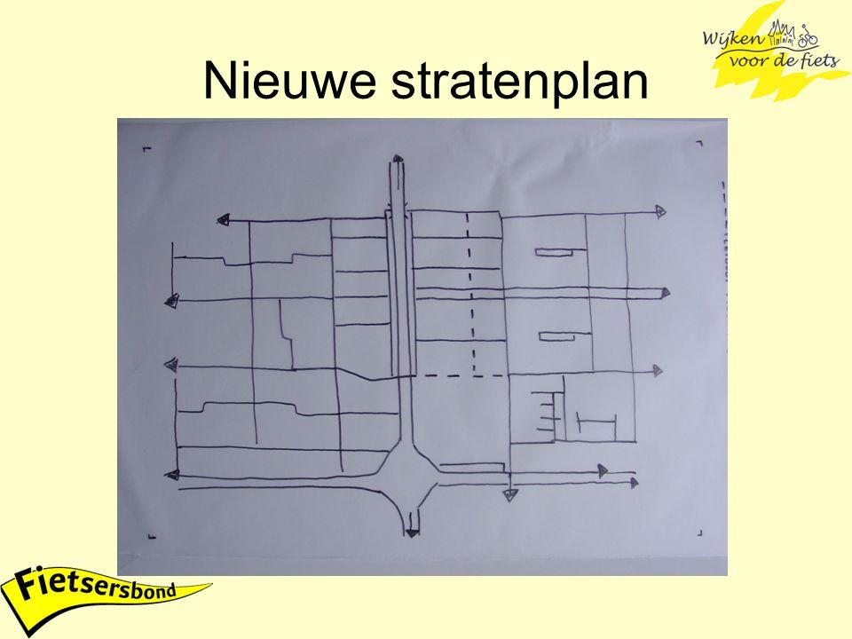 Nieuwe stratenplan