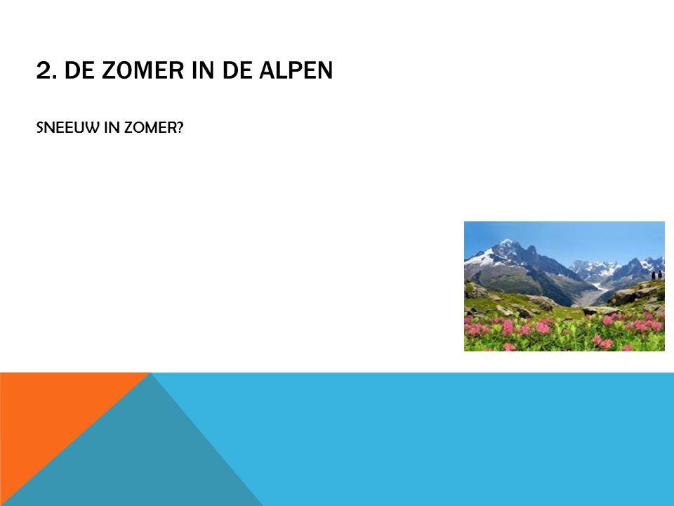 3. SKIËN IN DE ALPEN 13 miljoen mensen in de alpen 35 skigebieden in italie