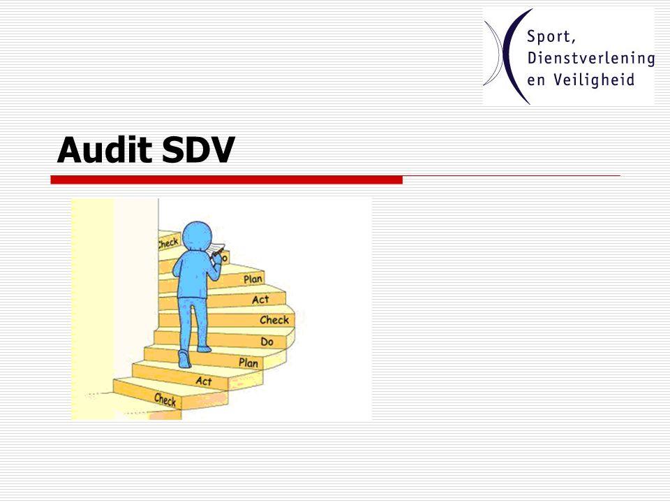 SDV: een paradijs voor doeners audit sdv Reacties ?
