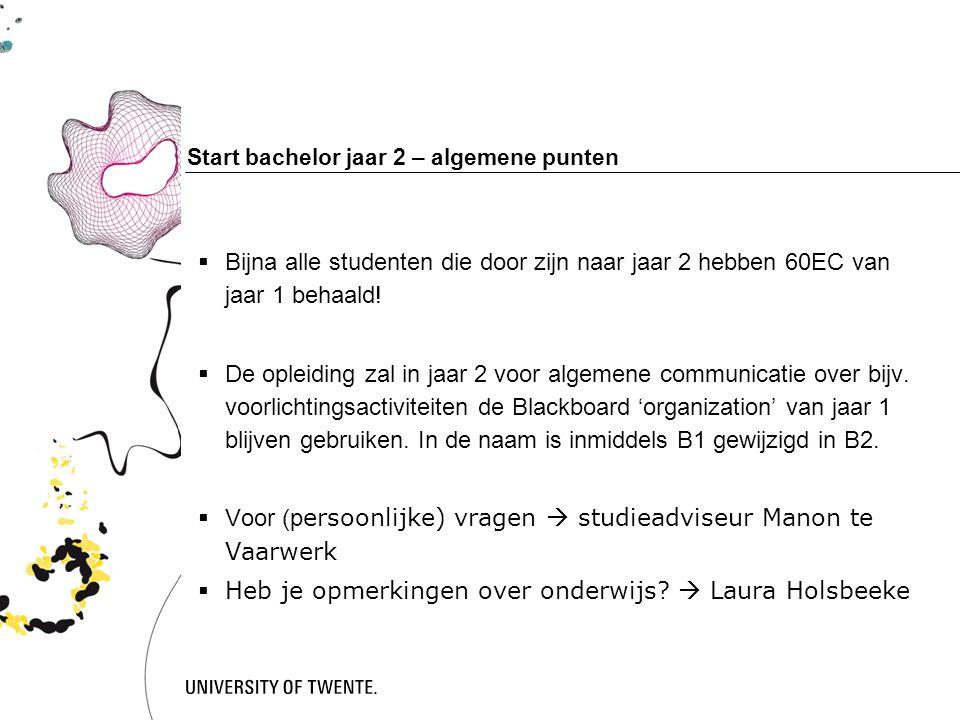 Feedback op het onderwijs Commissaris Onderwijszaken Bestuurskamer, Rubix Email: onderwijs@svdimensie.nl Facebook: https://nl-nl.facebook.com/svdimensiehttps://nl-nl.facebook.com/svdimensie Facebookgroep: Psychologie Utwente B1 2014/2015