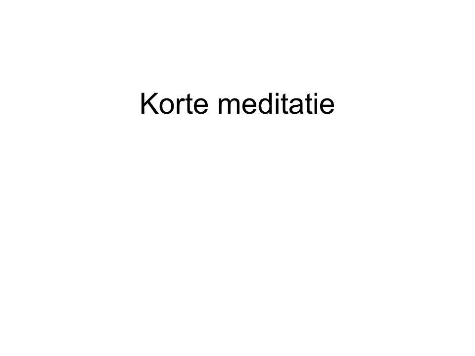 Korte meditatie