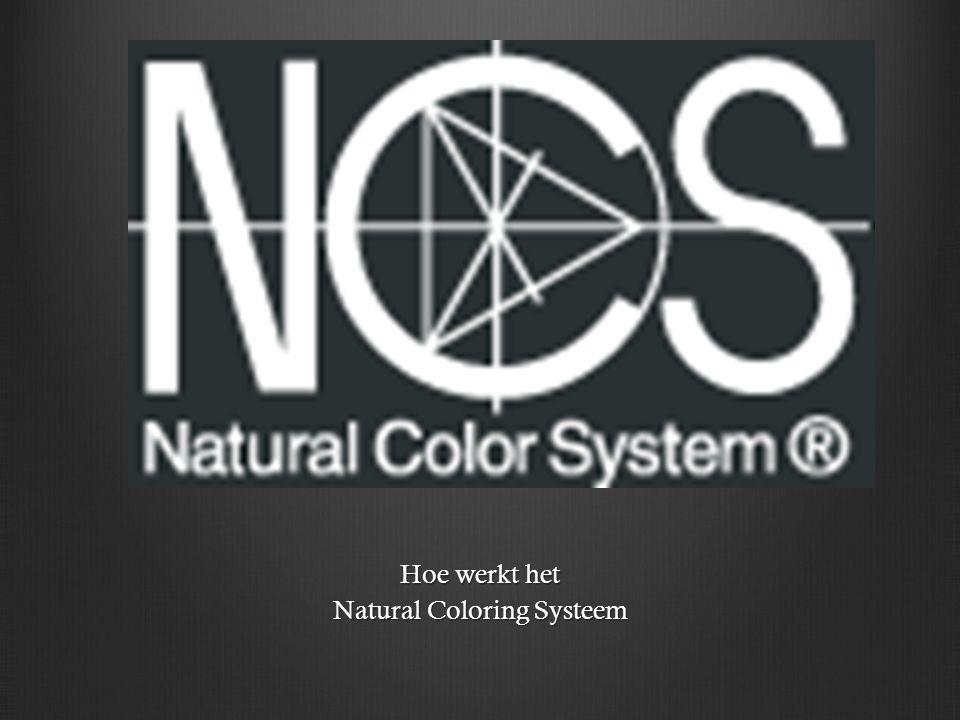 Het Natural Color System is het enige kleursysteem dat de kleuren zo beschrijft als wij het zien.