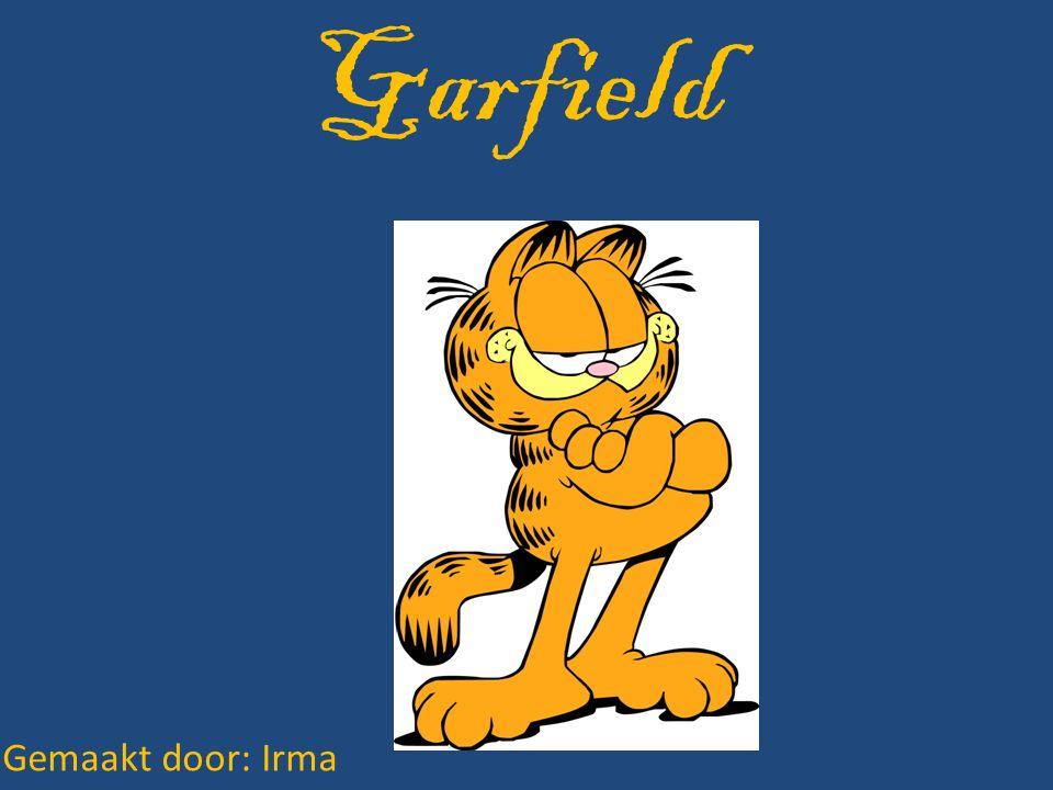 inhoud Wie is Garfield.Jim Davis. Hoe is Garfield ontstaan.