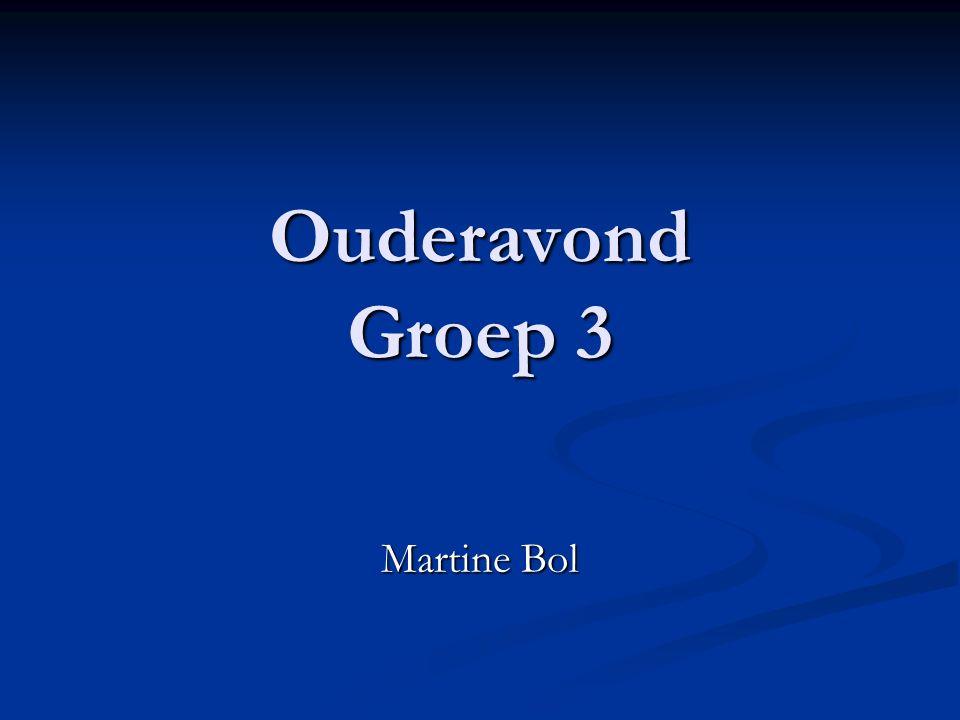Ouderavond Groep 3 Martine Bol