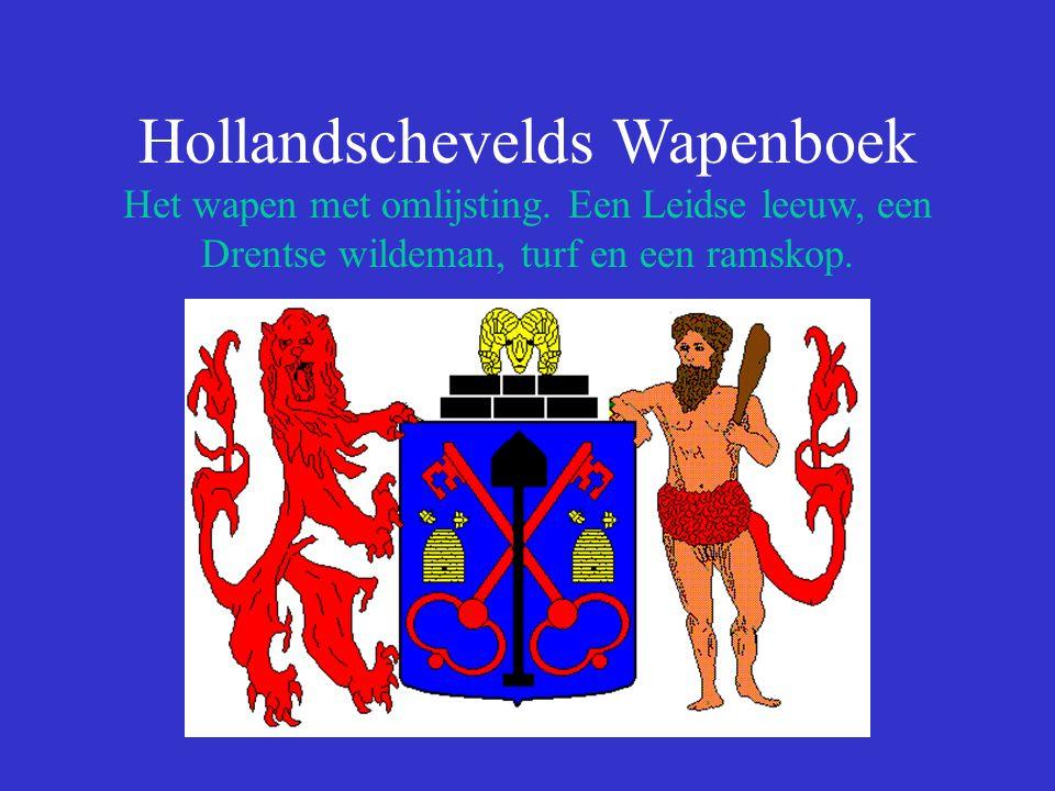 Hollandschevelds Wapenboek Het wapen met omlijsting.