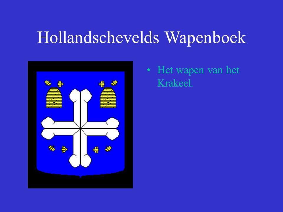 Hollandschevelds Wapenboek Het wapen van het Krakeel.