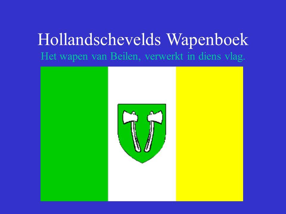 Hollandschevelds Wapenboek Het wapen van Beilen, verwerkt in diens vlag.